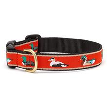 Sitting Ducks Dog Collar by Up Country