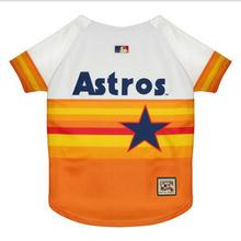 Houston Astros Baseball Dog Jersey - Throwback