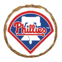 Philadelphia Phillies Dog Treat Cookie