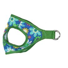 Picnic Dog Harness by Gooby - Blue Flower