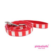 Picnic Dog Leash by Pinkaholic - Red