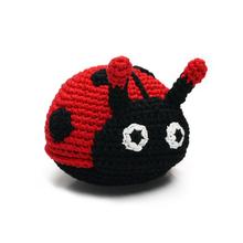 Ladybug Crochet Dog Toy by Dogo
