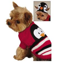 Piggyback Pals Dog Sweater Set - Penguin