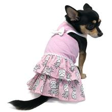 Pineapple Halter Dog Dress by Dogo