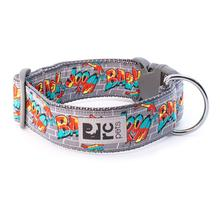 Graffiti Wide Clip Adjustable Dog Collar