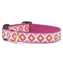Pink Crush Dog Collar by Up Country