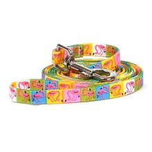 Pink Flamingo Dog Leash by Yellow Dog