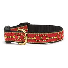Love You to Bits Dog Collar by Up Country