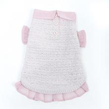 Pink and Proper Dog Sweater by Oscar Newman - Pink