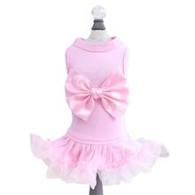 Hello Doggie Ballerina Dog Dress - Pink