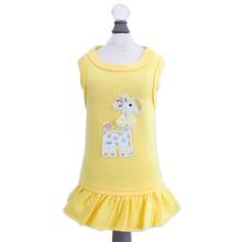 Baby Safari Dog Dress by Hello Doggie - Yellow