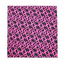 Pink Ribbon Breast Cancer Awareness Dog Bandana