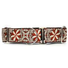 Pinwheel Wide Martingale Dog Collar by Diva Dog - Zanzibar Market