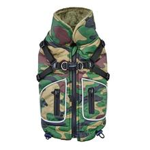 Pioneer Fleece Dog Vest By Puppia Life - Camo