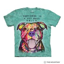 Pit Bull Smile Human T-Shirt by The Mountain