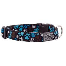 Pitter Patter Adjustable Clip Dog Collar by RC Pet - Chocolate