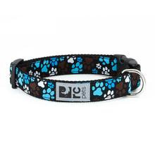 Pitter Patter Adjustable Clip Dog Collar by RC Pets - Chocolate