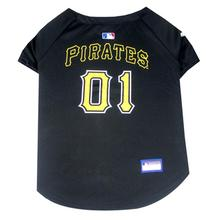 Pittsburgh Pirates Officially Licensed Dog Jersey - Black