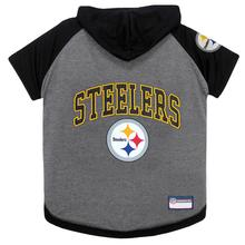 Pittsburgh Steelers Hooded Dog T-Shirt