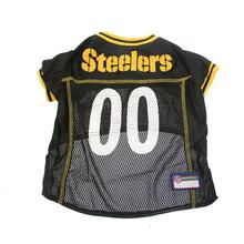 Pittsburgh Steelers Officially Licensed Dog Jersey - Yellow Trim