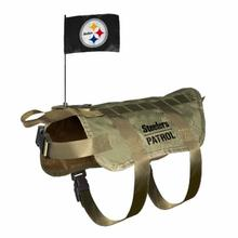 Pittsburgh Steelers Tactical Vest Dog Harness