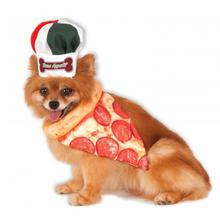 Pizza Chef Bandana Dog Costume Set