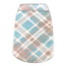 Plaid Dog Pullover - Light Blue and Gray