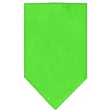 Plain Dog Bandana - Lime Green
