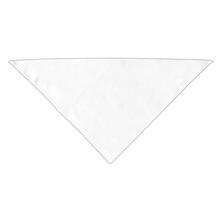 Plain Dog Bandana - White