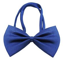 Plain Dog Bow Tie - Blue