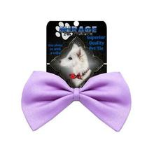 Plain Dog Bow Tie - Lavender
