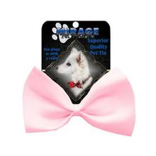 Plain Dog Bow Tie - Light Pink