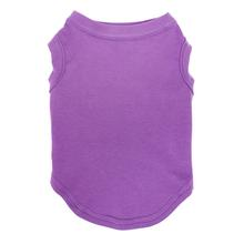 Plain Dog and Cat Shirt - Purple