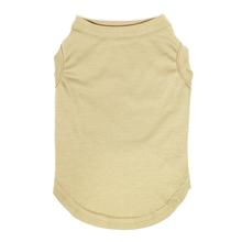 Plain Dog and Cat Shirt - Tan