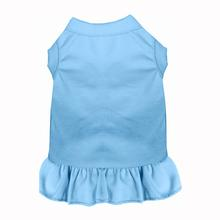 Plain Dog and Cat Dress - Baby Blue