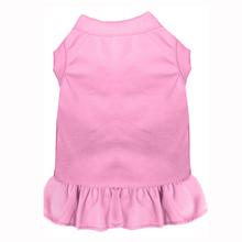Plain Pet Dress - Light Pink
