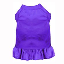 Plain Dog and Cat Dress - Purple