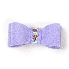 Susan Lanci Dog Hair Bow 2-Piece Set - French Lavender