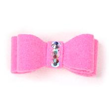 Susan Lanci Dog Hair Bow 2-Piece Set - Perfect Pink