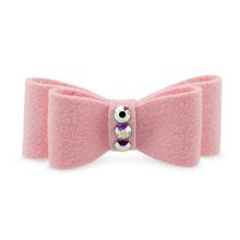 Susan Lanci Dog Hair Bow 2-Piece Set - Puppy Pink
