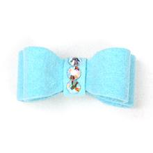 Susan Lanci Dog Hair Bow 2-Piece Set - Tiffi Blue