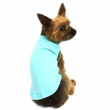 Plain Dog and Cat Shirt - Aqua