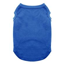 Plain Dog and Cat Shirt - Blue