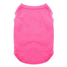 Plain Dog and Cat Shirt - Bright Pink
