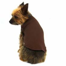 Plain Dog Shirt - Brown