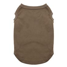 Plain Pet Shirt - Brown