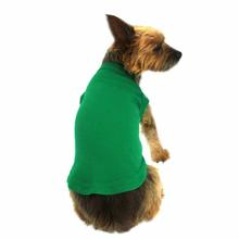 Plain Dog and Cat Shirt - Emerald Green