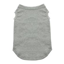 Plain Dog and Cat Shirt - Gray