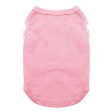Plain Dog and Cat Shirt - Light Pink