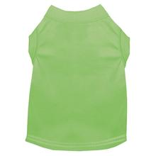 Plain Dog and Cat Shirt - Lime Green